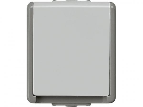 Aufputz-SCHUKO-Steckdose 75mmx66mmx54mm 1fach/ Schutzart IP44 / 1 Stück