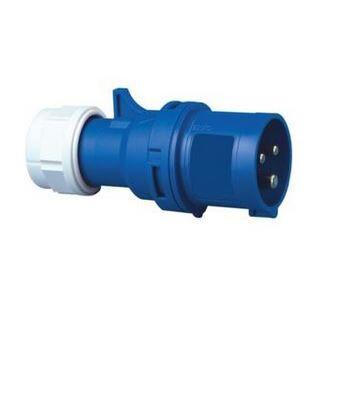 Stecker IP44 3-polig, 16 A 230 V