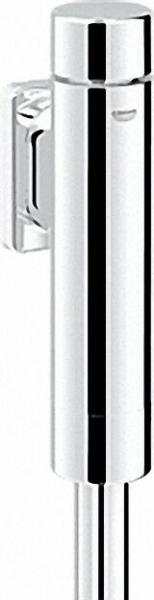 BENKISER Rondo A. S. Druckspüler für WC DN20, integrierte Vorabstellung, 6-9l einstellbar, chrom