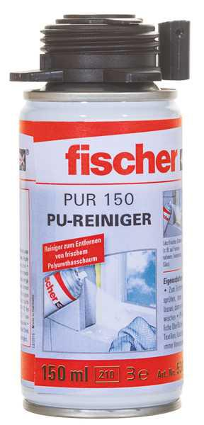 fischer pu reiniger pur 150 150ml. Black Bedroom Furniture Sets. Home Design Ideas