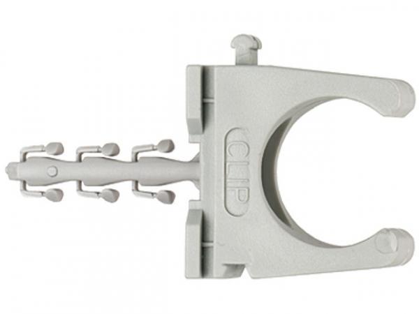 Fischer Steckfix plus Rohrclip SF plus RC IEC 40, 48199, VPE 25 Stück
