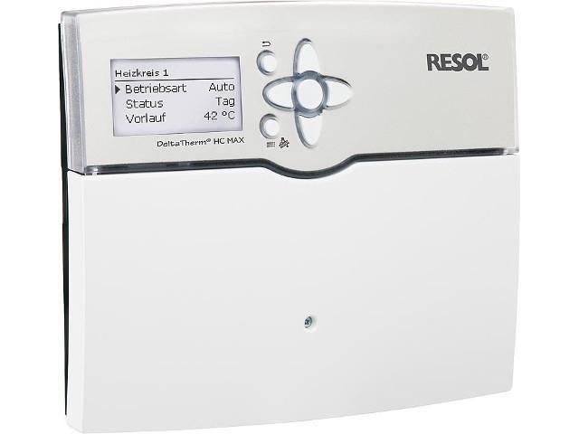 Heizungsregelung Resol Delta Therm HC Max inkl. 5 Sensoren
