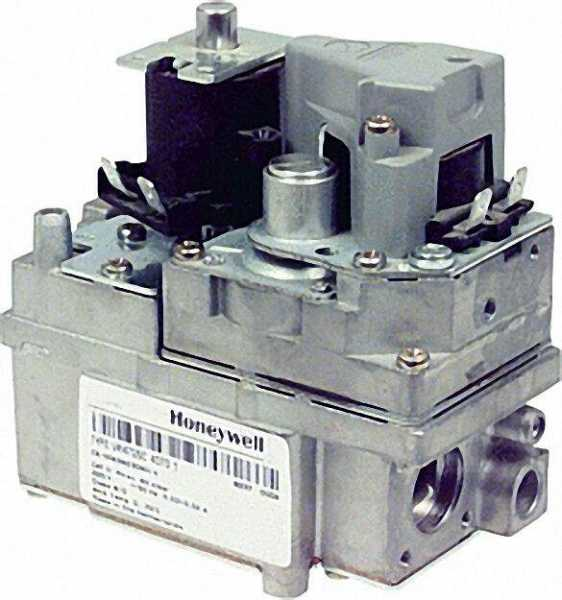 Dual-Gaskombinationsregler VR 4705 R 1/2'' VR 4705 C 4088B langs. öffnend 2-20 mbar Anfahrstufenbere