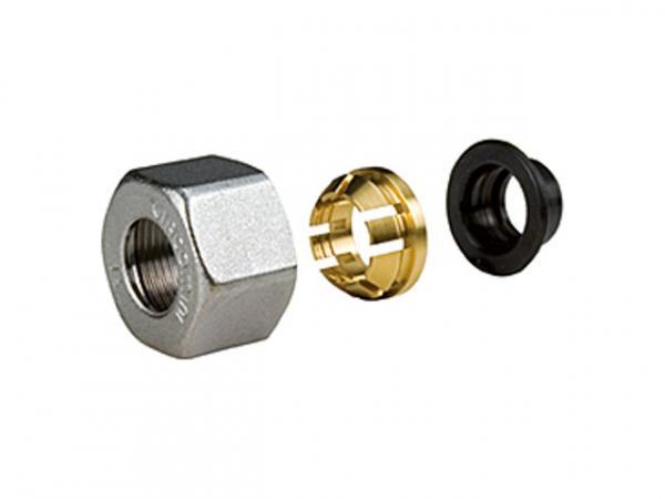 Giacomini R178C Adapter für Metallrohre