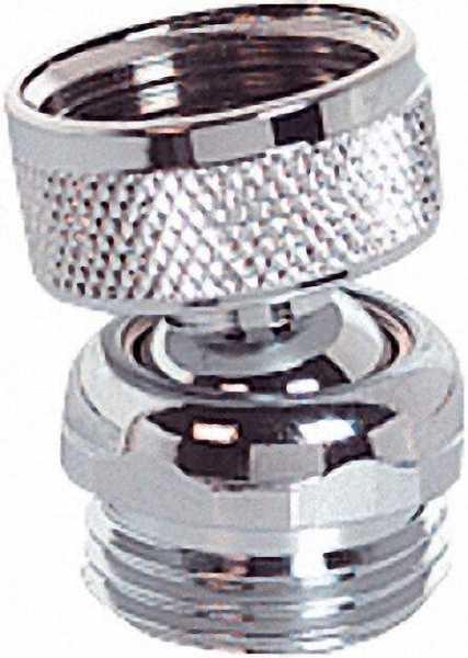 Kugelgelenk für Kopf und Körperbrause IG 1/2'' auf 1/2'' AG mit Durchflussbegren 12 Liter bei 0, 3 M