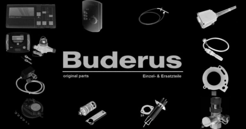 Buderus 87161162980 Armatur