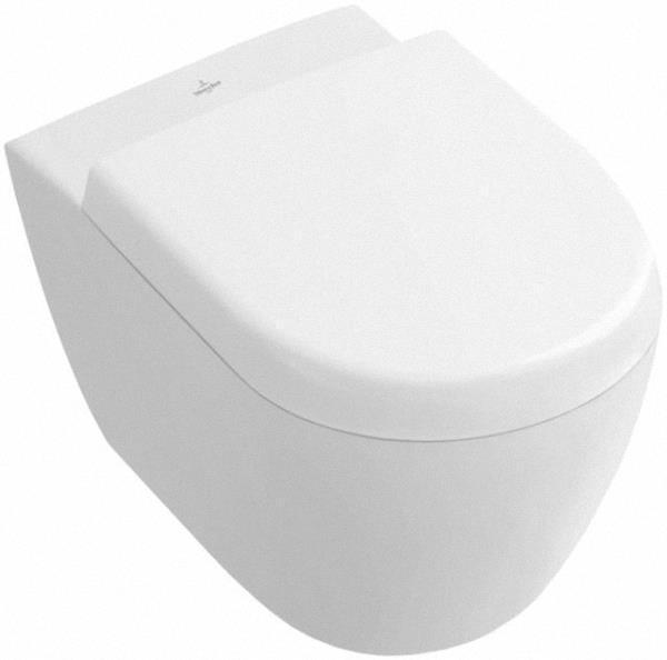 Villeroy & Boch 56061001 SUBWAY 2.0 Wandtiefspül-WC compact 56061001, weiß inkl. Befestigungssatz