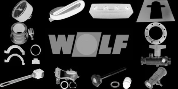 WOLF 207129299 Verrohrung 3 WUV - Schlauch lang D28(ersetzt Art.-Nr. 2071292)