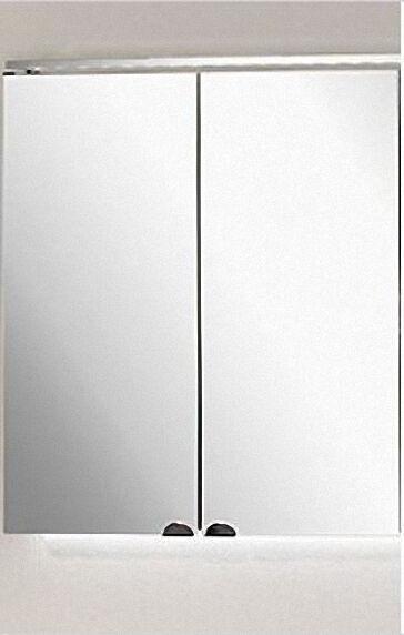 LANZET 7168712 Spiegelschrank 60/60/13, 6 Grafit, 2 Türen L5+TrBox