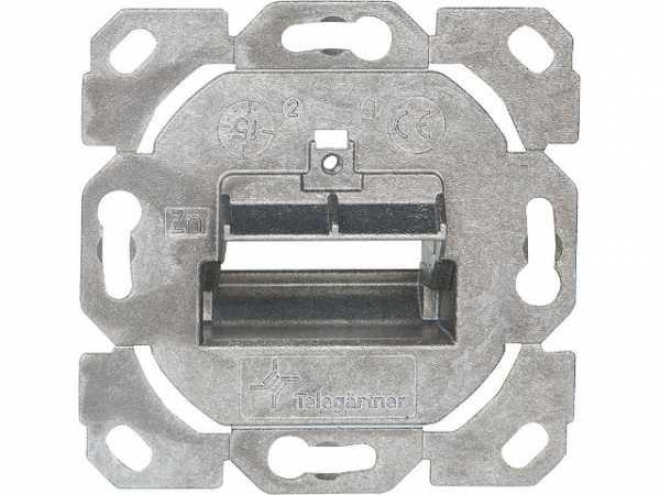 Modul-Aufnahme AMJ-S 1-fach und 2-fach 1 Stück