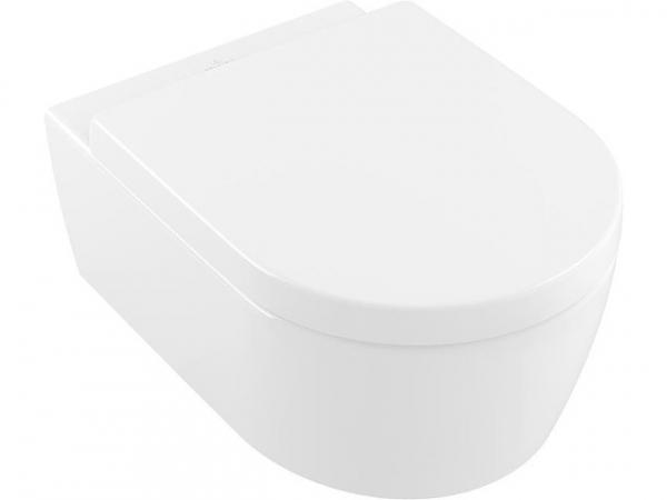 Combi-Pack V&B Avento Wandtiefspül-WC und WC-Sitz Softclose, weiß