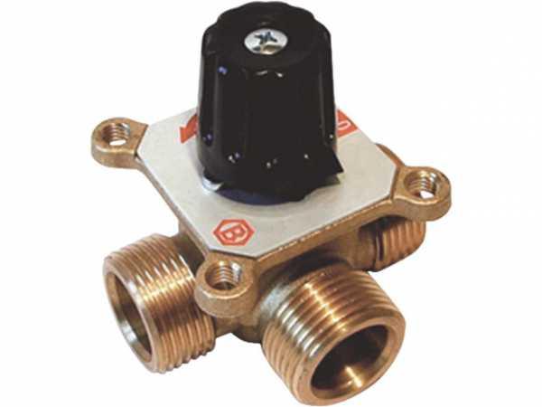 3-Wegemischer Easyflow Mix 461 DN20(3/4')AG, KV2,5, Messing