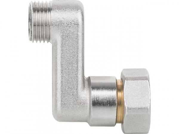 S-Anschluss AGxIG ÜWM DN15(1/2')xDN20(3/4'), Achsabstand 60mm