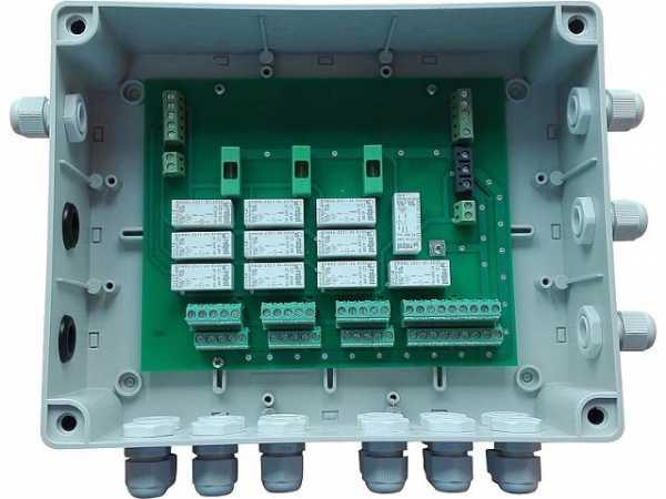 Steuerbox MULTI 6 (mehrfache Steuerbox für 6 Stück Heater)