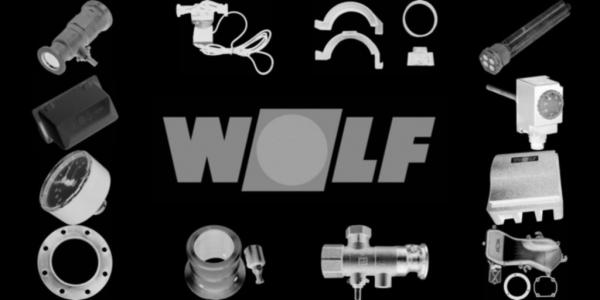 WOLF 8614082 Set Kunststoffclip D18