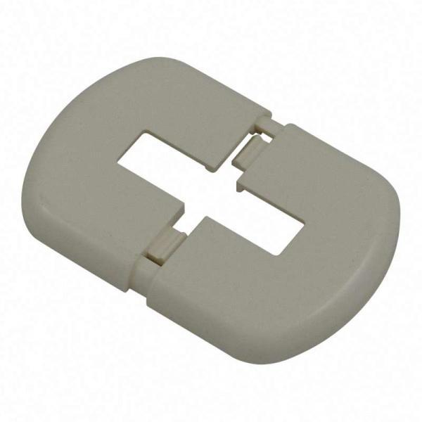 FLAMCO K14 WEMEFA Kunststoffrosette K14 zur Abdeckung der Standfüsse, ähnlich RAL 9016, 70x40 (für R