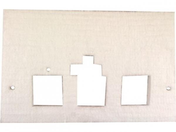 WOLF 1615023 Isolierung für Brennerplatte