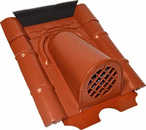 Entlüftungshaube Typ Beton mit PVC-Schlauch, Farbe Braun