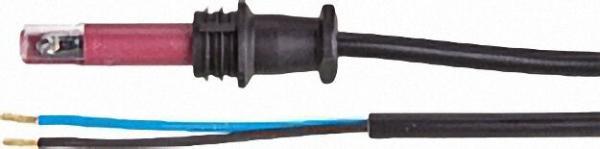 L & G Fotowiderstand QRB 1 B mit Stopfen Kabel 1500 lang