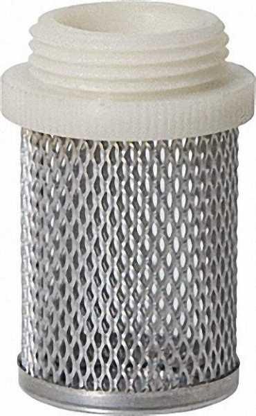 Saugkorb für Rückschlagventil 1/2'' mit Kunststoffgewinde
