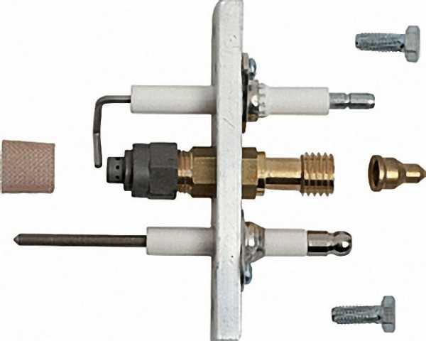 Elektrodenhalter mit Zünd-und Ionisationselektrode GA110E/CVI