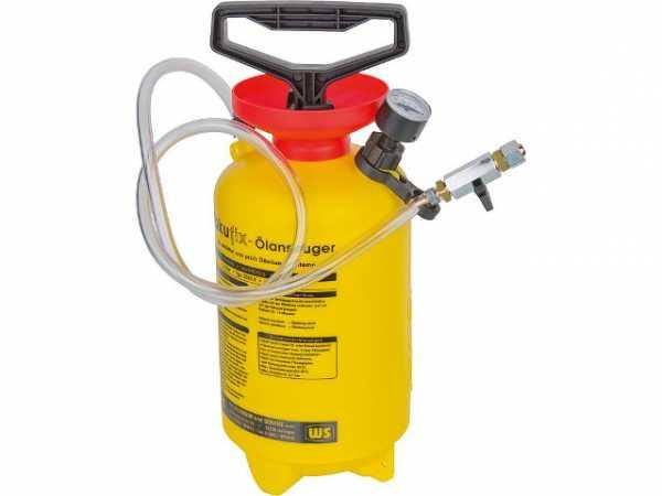 Ölansauger Vakufix Typ 3253 E 4 Liter max. -0, 8 bar WS-Aufdruck