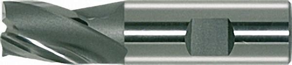 HSS-ECo8-Langlochfräser Form N 12,0mm blank kurz