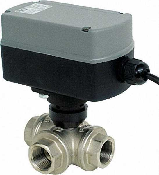 3/2 Wege Elektro-Kugelventil Typ EMV 110 Serie 830 3/4'', mit Relais