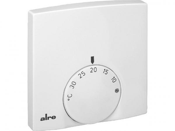 ALRE Raumtemperaturregler RTBSB-201,010, mit Umschalter (Wechseler, 5 Stellantriebe)