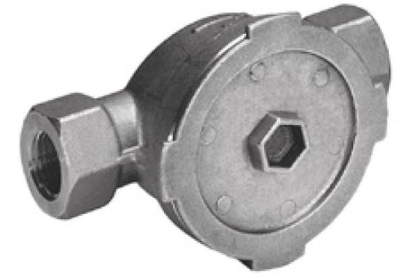 ELSTER AM140 Einbaugarnitur MO-A/MO-F Unterputz mit Blinddeckel und Einputzabdeckung
