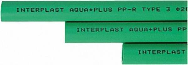 PPR Rohr Aqua-Plus d = 40 x 6,7 mm in Stange 1,95 m