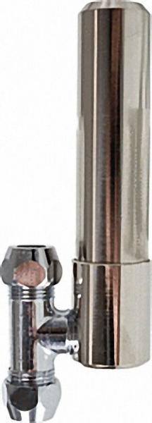 Druckschlagdämpfer mit T-Stück 3/8''x10mm Messing roh