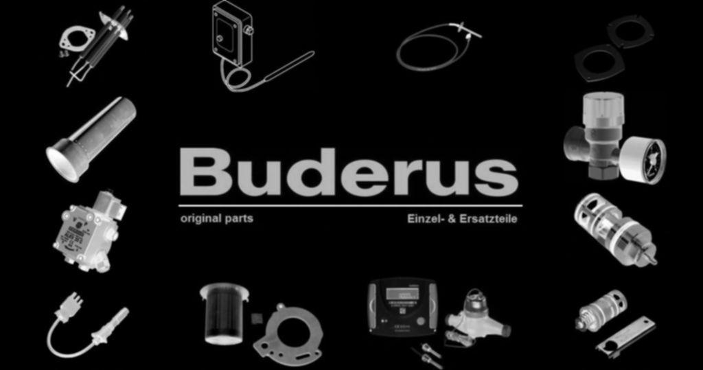"""Buderus 87185715570 Anode G1 1/2"""" D33x800mm unisoliert everp"""