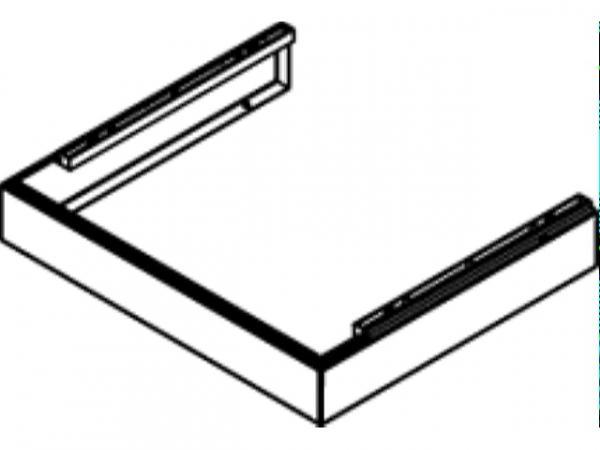 VIESSMANN 7835443 Armaturenabdeckung H 85 mmxB 350 mm (Vitodens 100-W)