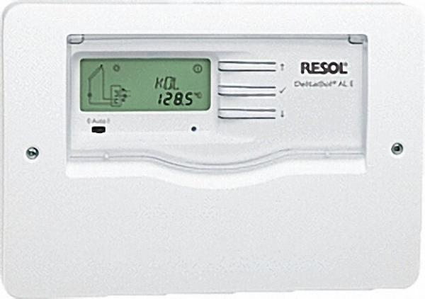 RESOL Differenztemperaturregler mit elektrischer Nachheizung DeltaSol AL E mit 3 Fühler