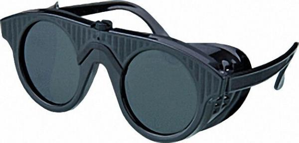 Nylonbrille DIN 5 Glas 50mm rund