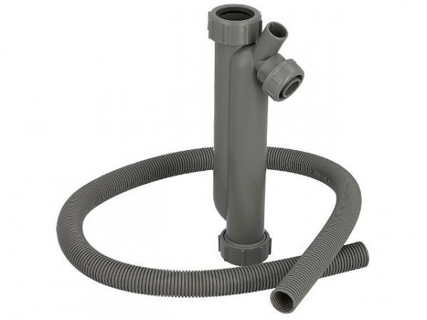 CondensBlue Siphon 150mm Sperrwasserhöhe mit 1,0m Schlauch