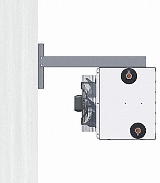 4 Aufhängelaschen für Deckenmontage für Luftheizer LH120-930