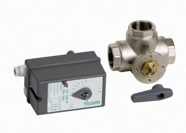VIESSMANN 7165482 3-Wege-Umschaltventil mit elektrischem Antrieb, Anschluss R1 1/4 (Innengewinde)