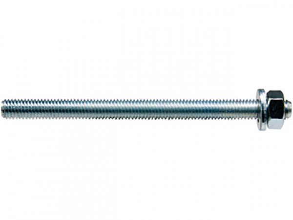 Fischer Ankerstange FIS A M 8x110 gvz galvanisch verzinkt Stahlgüte 8.8, 519391, VPE 10 Stück