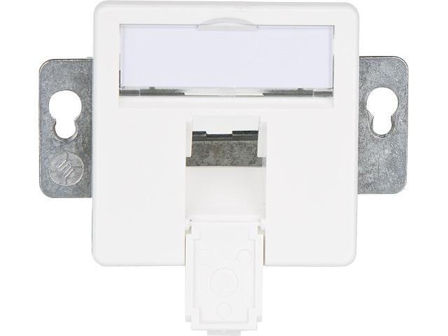 Modul-aufnahme 50x50,1-fach UP/50 alpinweiß 1 Stück