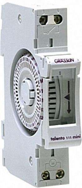 GRÄSSLIN Verteilerschaltuhr Synchron Schaltuhr talento 111 mini (V86/1ST M1)