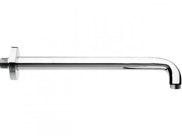 Wandanschlussrohr rund Messing, verchromt, 300 mm