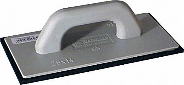 Kunststoffreiber schwarz ZKS 28x14x1 mit Zellkautschuk 10mm