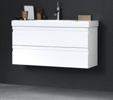DANSANI Waschtischunterbau mit Schubladen für Mini Menuet WT 80 cm