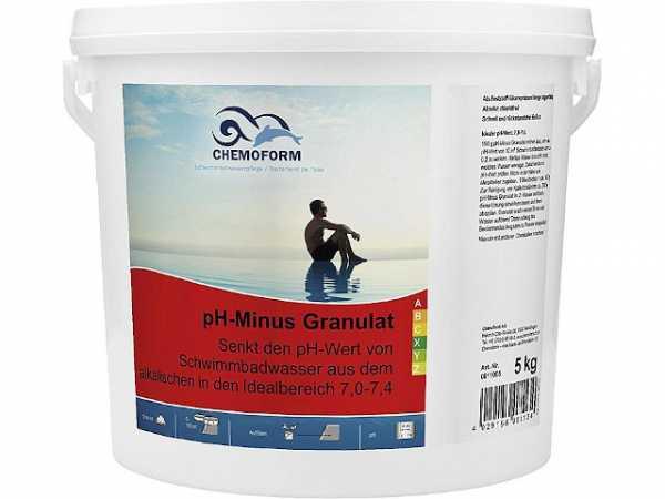 SANIT pH-Regulator-Minus Granulat, 5kg Eimer
