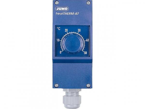 Jumo 60003185 Anlegethermostat Typ 603070/0001 mit ausziehb. Fernleitung TR 0. . . 120°C