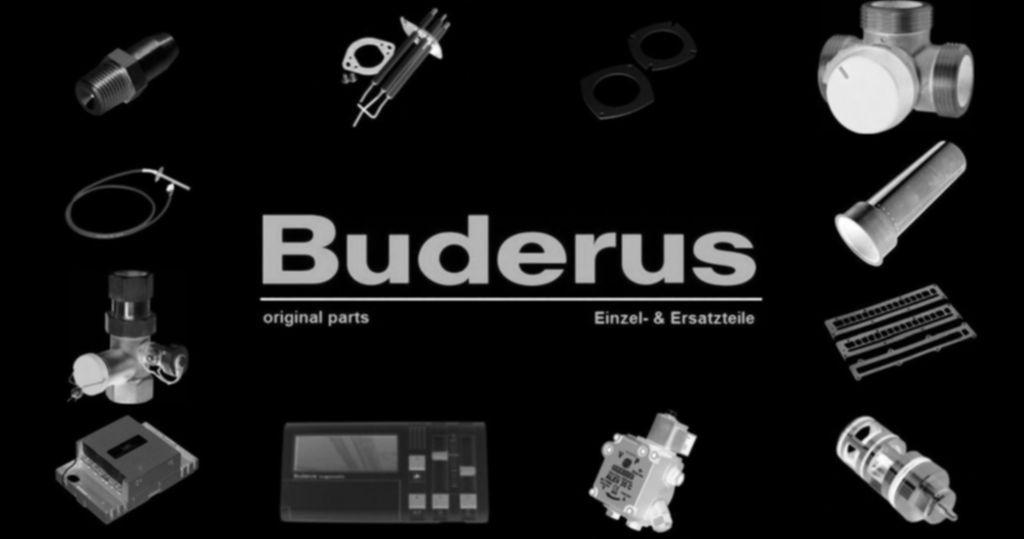 Buderus 7099458 Rohr Verbindung Gasarm Gasanschl GB132T
