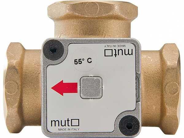 "MUT Thermisches TM 3000 Ladeventil 63 °C, 3/4"""