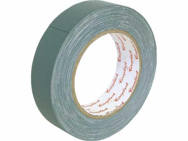 Gewebeklebeband, kunststoffgeschützt grau, Breite 30 mm Länge 50 m